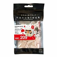 Nanoblock Daruma White Building Kit 160 Pcs NBC 209