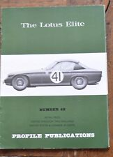 Profile Publications Number 48 The Lotus Elite
