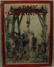 Army Ordnance January February issue 1931 vtg Old military Magazine