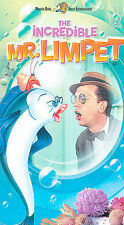 The Incredible Mr. Limpet (1963, VHS) Don Knotts, Carole Cook, Jack Weston