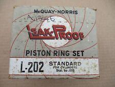 Piston Rings 1932 – 1946 Ford Garwood Marmon-Herrington Truckstell Warford Std