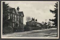 Postcard Puckeridge Hertfordshire early view of Standon Road