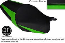 Desgn 2 L Verde Negro Vinilo Personalizado Se Ajusta Kawasaki ZZR 1400 ZX14R 12-14 Funda De Asiento