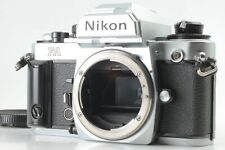【Excellent+++++】Nikon FA Silver Body 35mm SLR Film Camera From Japan #52