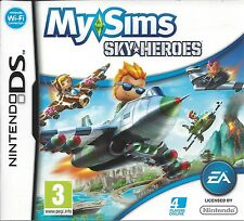 MYSIMS MY SIMS SKYHEROES for Nintendo DS NDS - with box & manual