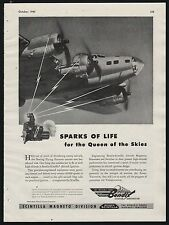 1943 WWII BOEING B-17 Flying Fortress WW II WW2  Bendix Queen of the Skies AD