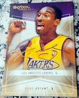 KOBE BRYANT 2004 Fleer Skybox AUTOGRAPHICS GOLD RARE SP 147/150 Lakers MVP HOF $