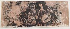 Jacques Yankel lithographie couleur signée carte de voeux belles dimensions