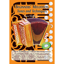Beginners' Melodeon Tunes and Techniques Book Only - Dave Mallinson