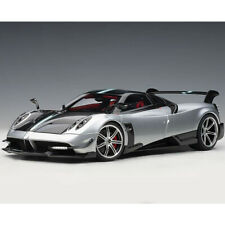 AUTOart Pagani Huyara BC 1:18 Model Car Grigio Mercur Silver Carbon 78278