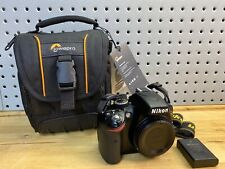 Nikon D D3200 24.2 MP Digital SLR Camera - Black (Body Only) W/ Brand New Bag