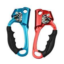 Pair Hand Ascender Tree/Rock Climbing Rescue Caving Rope Ascension Equipment