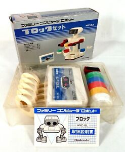 Robot Block Set Nintendo Family Computer Famicom FC NES Jap Japan