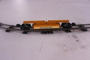 S Gauge Maintenance of Way Track Cleaning Car (Auction#300)