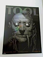 TOOL Concert Poster, 1/12/20 Viejas Arena, San Diego, CA, 345/500, embossed