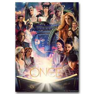 Once Upon A Time Poster Art Silk Hot TV Series Show Poster 13x18 24x32inch J409