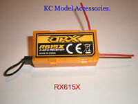 2.4GHZ ORANGE RX R615X RECEIVER DSM2 & DSMX CPPM 6CH AIR RECEIVER HELI PLANE