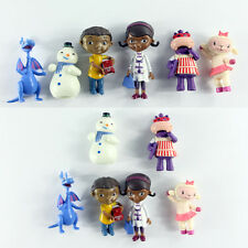 6PCS Doc McStuffins Stuffy Lambie Hallie Chilly Figure Cake Topper Play Set Toy