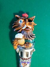 """New Rare Version Amber  Alley Cat Lost Coast 11"""" Beer Keg Tap handle Marker"""