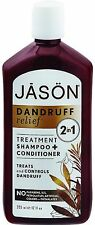 Jason Dandruff Relief 2 in1 Treatment Shampoo + Conditioner 12 oz