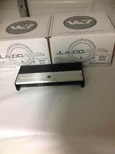 New 2 JL 12w3v3 + JL XD 1000/1 MONOBLOCK AMP