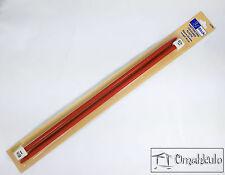 BIRCH Knitting Pins - 6.50mm - 30cm Long - Plastic Needles