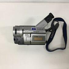 Sony Handycam vision Video8 XR CCD-TRV47E 200x Digital Zoom #209
