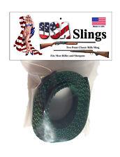 Rifle Sling Hunter Green - 2 Point Gun Sling