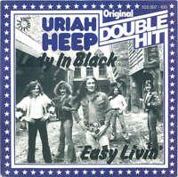 "Uriah Heep -  Lady In Black / Easy Livin' (7"", Single) Vinyl Schallplatte 44861"