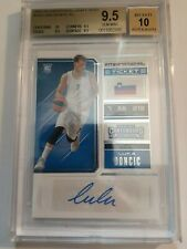 🔥 2018 Panini Contenders Draft Luka Doncic ROOKIE RC AUTO #126 BGS 9.5 GEM MINT