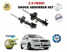 FOR CHEVROLET AVEO 1.2 1.4 2006 > NEW 2 X FRONT LEFT + RIGHT SHOCK ABSORBER SET