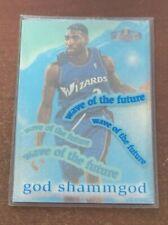 1997-98 Flair Showcase Wave of the Future God Shammgod #8WF Rookie RC RARE
