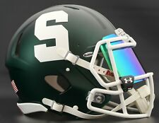 *CUSTOM* MICHIGAN STATE SPARTANS NCAA Riddell Speed AUTHENTIC Football Helmet