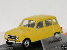 RENAULT 4 Yellow/Jaune 1974 NOREV 1/43 Ref 510048