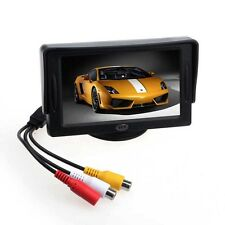 "For DVD GPS Reverse Backup Camera Car 4.3"" TFT LCD Color Monitor di Rearview"