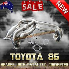 TOYOTA FT86 MANIFOLD HEADER - KS RACING EXHAUT WITH CATALYTIC CONVERTER
