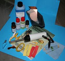 Handgalvanisier Set  und Ergänzungs Set  plus Broschüre über Galvanisierens
