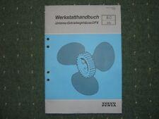 Werkstatthanbuch  DPX Z-Antrieb  Volvo Penta