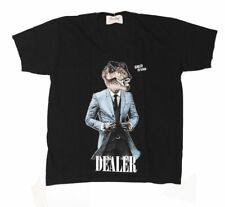 Dom Rebel T-Shirt Hommes Black Noir Dealer Tailles S
