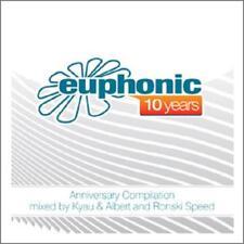 10 YEARS EUPHONIC = Kyau & Albert / Ronski Speed =2CD= TRANCE PROGRESSIVE !!