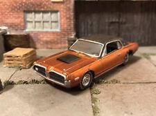 1968 Mercury Cougar Rusty Weathered Custom 1/64 Diecast Car Farm Barn Find Rust