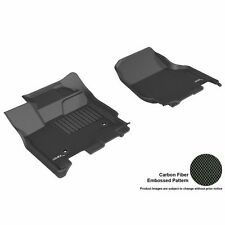 3D Maxpider 2015-2017 Ford F-150 Supercab/Supercrew Kagu Black R1 Floor Liners