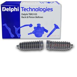 Delphi TBR3105 Rack and Pinion Bellows Kit for 103-2671 1H0 422 831B JBE216 du