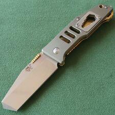 Sanrenmu SRM High Quality Tanto Blade EDC Folding Knife 7046LTE-LKR
