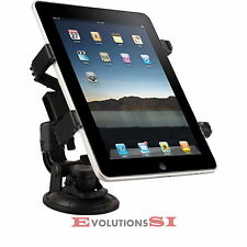 SOPORTE COCHE IPAD 3 2 1 TABLET VENTOSA GALAXY TAB DVD AJUSTABLE MULTIDIRECCION