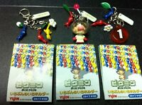 Game Gashapon Pikmin Charm Captain Olimar Figure SET RED JP new