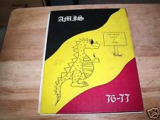 1977 INTERNATIONAL SCHOOL OF LIEGE YEARBOOK, BELGIUM