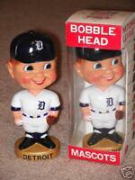 1974 Detroit Tigers Baseball Bobble Wobble Head Nodder bobblehead vintage NIB