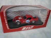 BEST MODEL 1/43 ALFA ROMEO TZ2 TARGA FLORIO 1966 GEKI/ZECCOLI