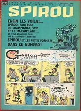 ▬► Spirou Hebdo N° 1273 du 6 Septembre 1962